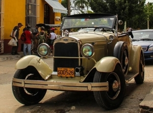 Xe Mỹ cổ ở Cuba
