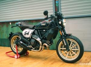 Ngắm Ducati Scrambler Cafe Racer trước ngày ra mắt tại Việt Nam