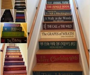 Sáng tạo cùng sơn làm mới cầu thang cho nhà bạn