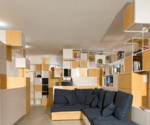 Ngắm căn hộ có nội thất sáng tạo thay đổi cách nhìn của bạn