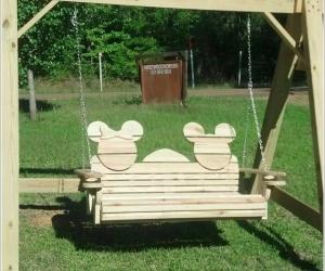 Thiết kế sân vườn lấy cảm hứng từ nhân vật chuột Mickey