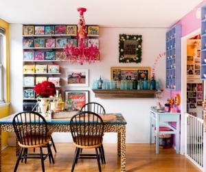 Nhà đẹp với phong cách nội thất tối đa maximalism