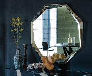 Trang trí nhà với gương hình học độc đáo