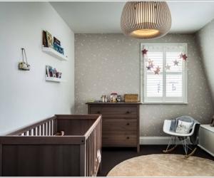 Phòng bé thêm ấn tượng với thiết kế sọc