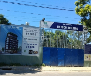 Tiến độ dự án Hatoco Building Đà Nẵng vào tháng 06/2019