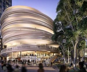 """Dự án """"thư viện xoắn ốc"""" bằng gỗ tại Sydney"""