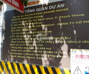 Tiến độ thi công dự án Center Point Đà Nẵng tháng 8/2019