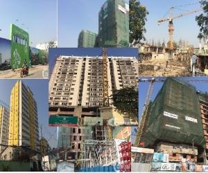 Tiến độ dự án trên dưới 1 tỷ tại khu Đông tháng 1/2016