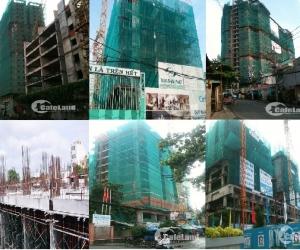 Tiến độ dự án quận Tân Phú vào tháng 10/2015