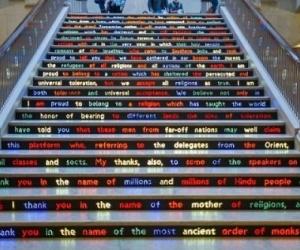 Vòng quanh thế giới, tròn mắt ngắm 15 thiết kế cầu thang 'chất đừng hỏi'