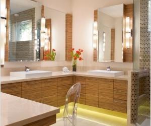 10 ý tưởng thiết kế ánh sáng cho phòng tắm