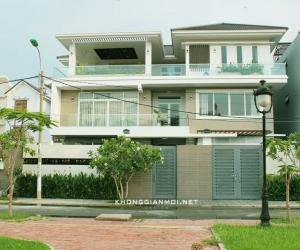 Biệt thự hiện đại 3 tầng tại Quận Bình Tân