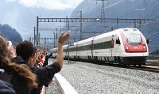 Đường hầm tàu dài và sâu nhất mở cửa ở Thụy Sĩ