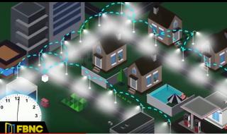 Trình diễn hệ thống đèn đường thông minh giúp tiết kiệm 70% điện năng
