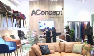AConcept mang không gian nội thất Bắc Âu tới Vietbuild Hồ Chí Minh 2017