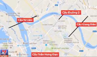 """Thực hư """"cơn sốt đất"""" đón 4 cây cầu sắp xây ở Hà Nội"""