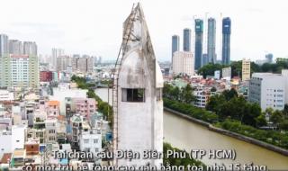 Bốn tháp cao như nhà 15 tầng ở Sài Gòn có công dụng gì?
