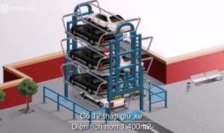 Những kiểu nhà giữ xe thông minh đang được đề xuất ở TP HCM