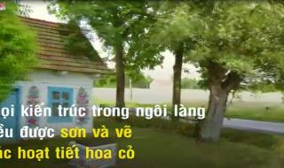 """""""Trồng"""" toàn hoa giả, đây vẫn là ngôi làng cổ quyến rũ nhất Ba Lan"""