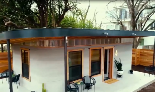 Căn nhà giá rẻ được in 3D trong một ngày