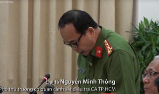 Công an TP HCM: Lửa bùng phát 13 phút, không ai phát hiện