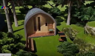 Ngôi nhà 12 mét vuông đầy đủ tiện nghi cho 4 người ở