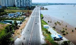 TPHCM: Thông xe cầu 500 tỷ qua đảo Kim Cương