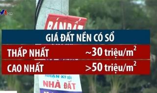 Cơn sốt đất nền tại TP. Hồ Chí Minh có dấu hiệu hạ nhiệt