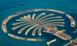 Nhìn ra thế giới: Quần đảo nhân tạo hình cây cọ Palm Jumeirah, Dubai