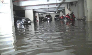 Biện pháp chống ngập hầm chung cư trong mùa mưa