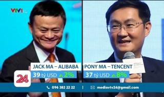 Tỷ phú công nghệ chiếm ưu thế trong giới siêu giàu Trung Quốc