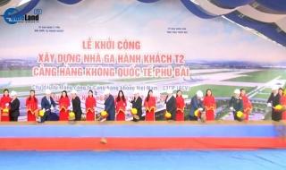 BẢN TIN CAFELAND: Khởi công nhà ga T2 sân bay Phú Bài 2.250 tỷ đồng, mở bán dự án Kiến Hưng Luxury