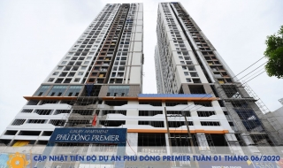 Tiến độ dự án Phú Đông Premier tháng 06/2020