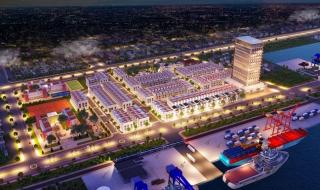 Phối cảnh dự án Phú Mỹ Central Port Bà Rịa – Vũng Tàu
