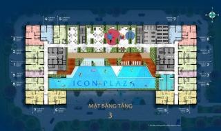 Mặt bằng dự án Icon Plaza Bình Dương