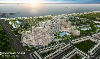 Hình phối cảnh dự án căn hộ biển Wyndham Coast Bình Thuận
