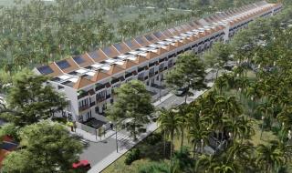 Hình phối cảnh dự án Thân Cửu Nghĩa Village Tiền Giang