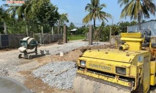 Tiến độ dự án Thân Cửu Nghĩa Village tháng 11/2020