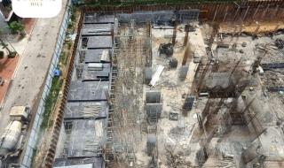 Tiến độ dự án Diamond Hill Bắc Giang tháng 6/2021