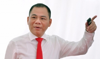 Ông Phạm Nhật Vượng xếp thứ 195 trong top người giàu Forbes