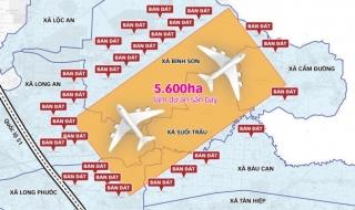 Chủ tịch tỉnh Đồng Nai chịu trách nhiệm trước Thủ tướng Chính phủ việc quản lý đất quanh sân bay Long Thành