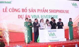 Vietcomreal ra mắt dòng sản phẩm Shophouse Viva Riverside