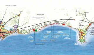 """Bình Thuận xây đề án """"Bổ sung mục tiêu kinh doanh bất động sản trong các dự án du lịch"""""""