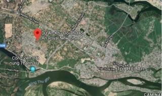 Quảng Nam: Giao 7,7ha đất nghĩa trang để thực hiện Hội An Royal New City