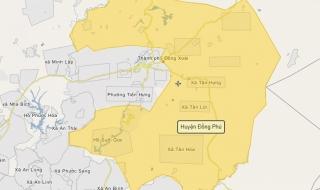 Bình Phước đề xuất thành lập Khu liên hợp công nghiệp, dịch vụ và đô thị Đồng Phú hơn 6.300ha