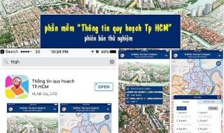 """Ngày 24/11/2017: Công bố phần mềm ứng dụng """"Thông tin Quy hoạch TP.HCM"""""""