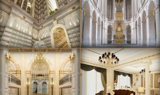 D'.Palais de Louis đã xây đến tầng 25