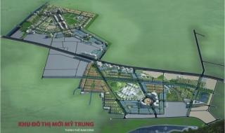 Mở bán Khu Đô thị mới Mỹ Trung với giá từ 5 triệu đồng/m2