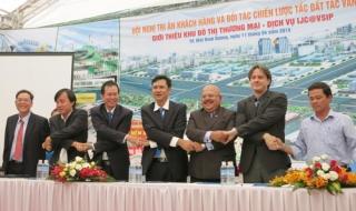 Ký kết phát triển khu đô thị thương mại IJC@VSIP