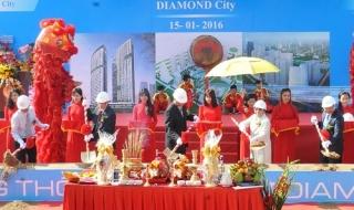 Hoàn Cầu động thổ dự án Khu dân cư Diamond City
